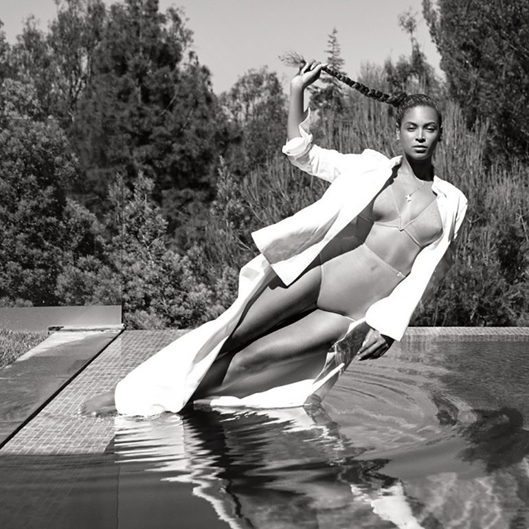 Beyonce stuns wearing a nude bikini as she poses for a scorching magazine cover