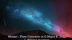 Mozart - Flute Concerto in G Major K. 313