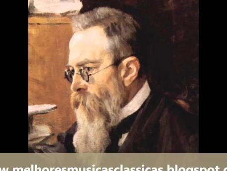 Nikolai Rimsky-Korsakov Music Photo