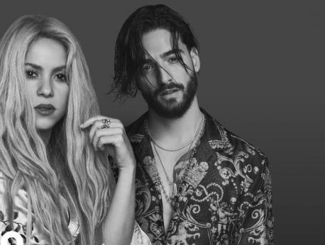 Shakira & Maluma Music Photo