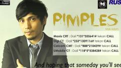 Mark Adam - Pimples (Lyrics Video)
