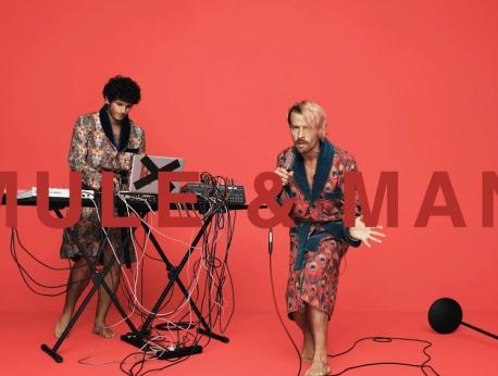 Mule & Man Music Photo