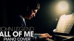John Legend - All of Me (David Solís Piano Cover)