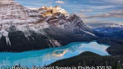 Haydn - Keyboard Sonata in Eb Hob XVI 52