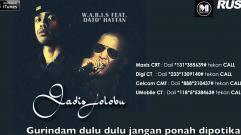 W.A.R.I.S - Gadis Jolobu (Feat. Dato' Hattan) (Lyrics Video)