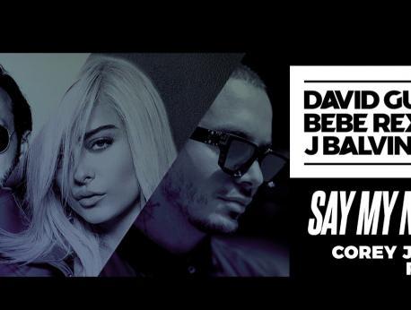 David Guetta, Bebe Rexha & J Balvin Music Photo