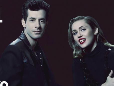 Miley Cyrus & Mark Ronson Music Photo